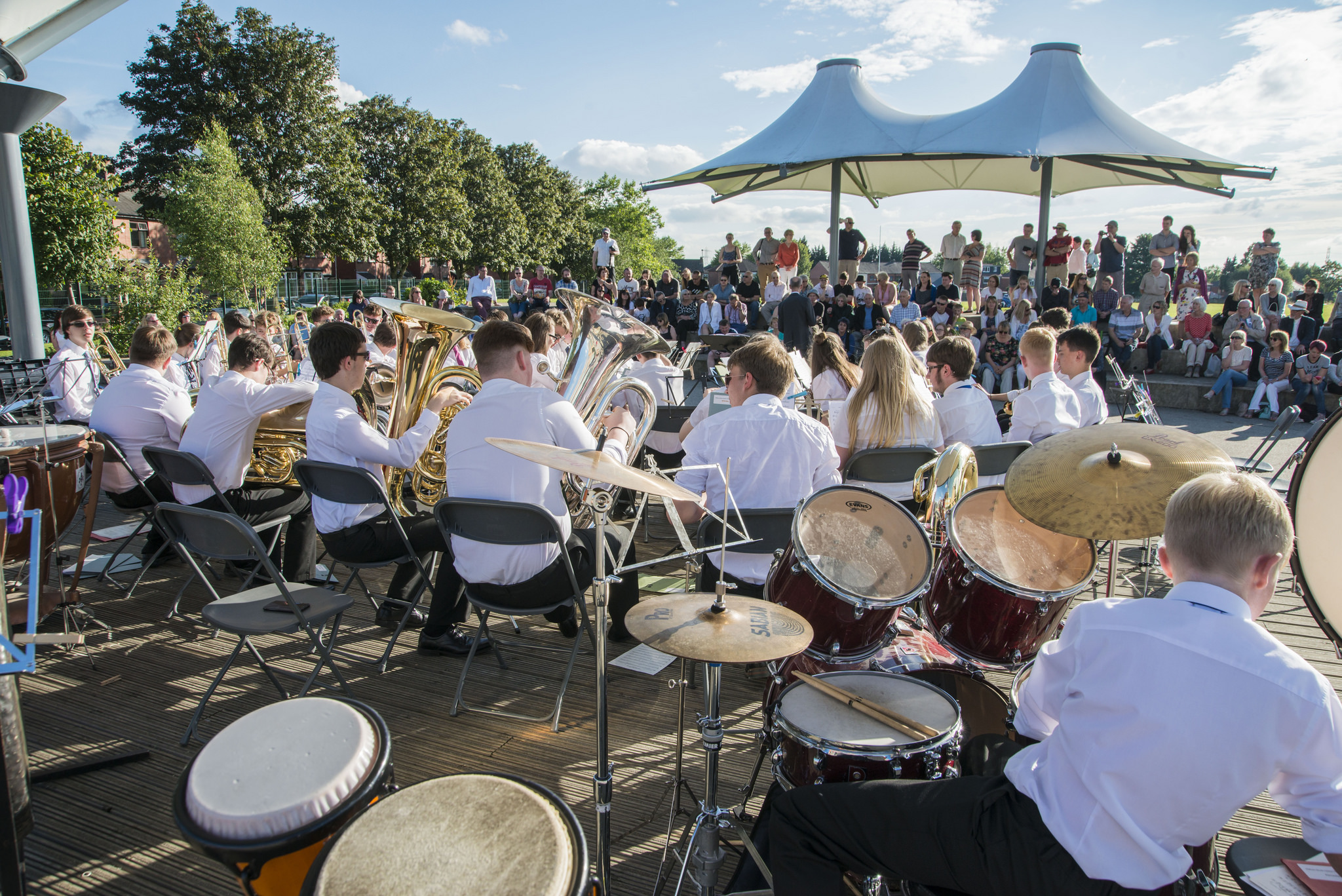 Hundreds of Oldham's best and brightest young and community musicians are set to get the town centre rocking at this year's Summer Festival.