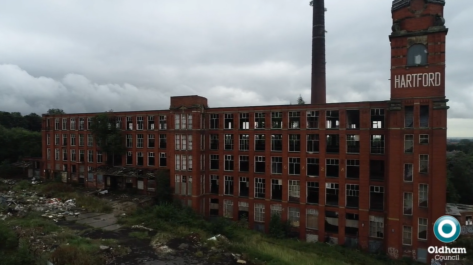 Plans submitted to demolish Hartford Mill