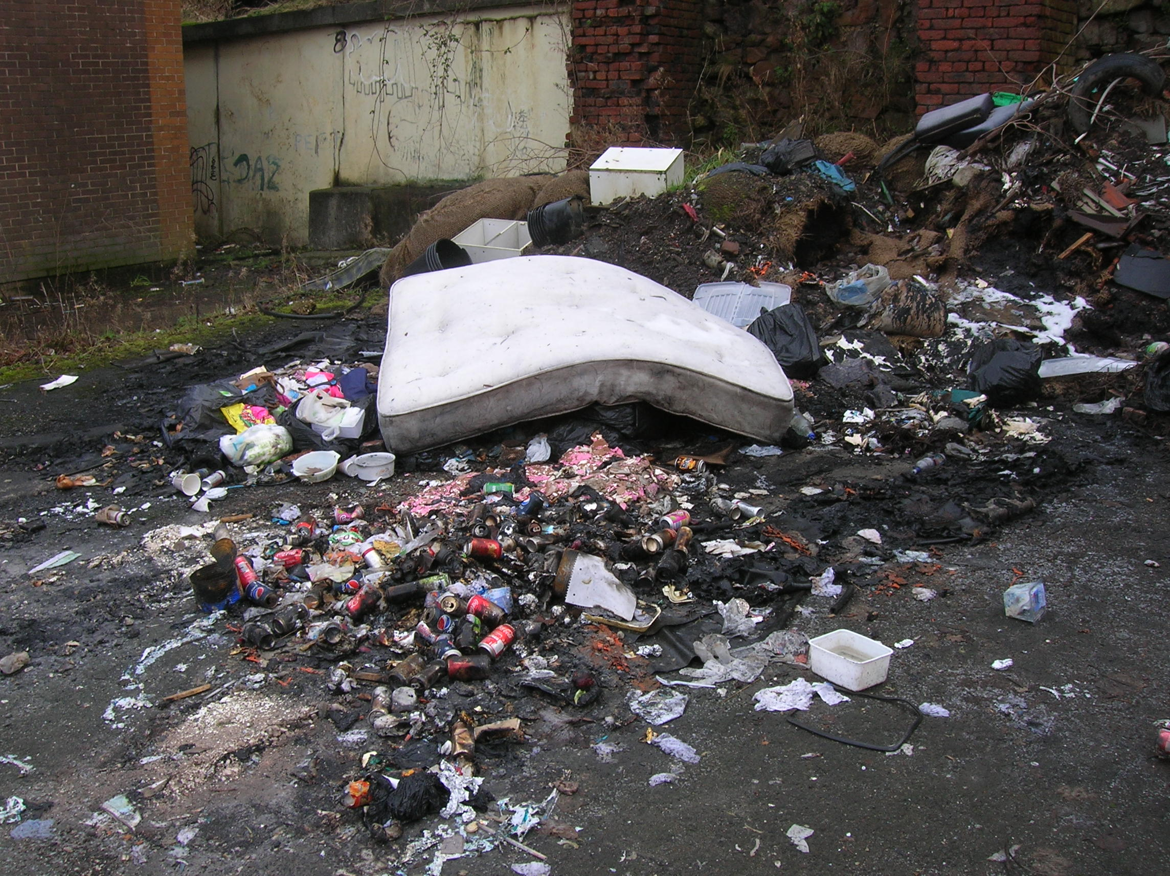 Waste dumpoed in Oldham