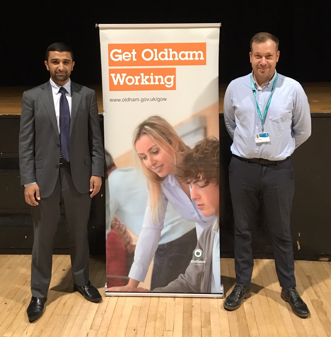 Get Oldham Working Jobs Fair 2019