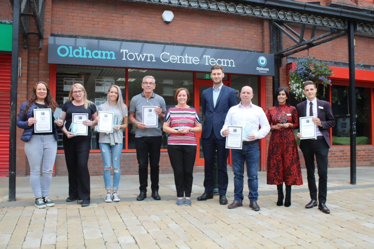 Winners of town centre awards