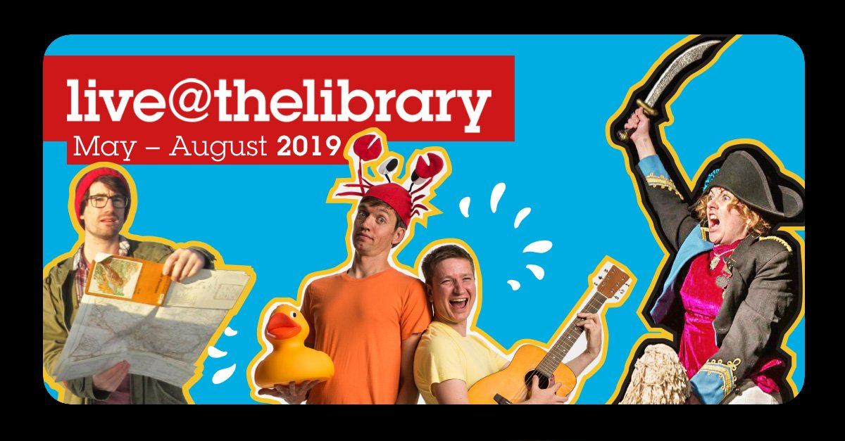 Discover new worlds, comedy and languages as part of Live@thelibrary