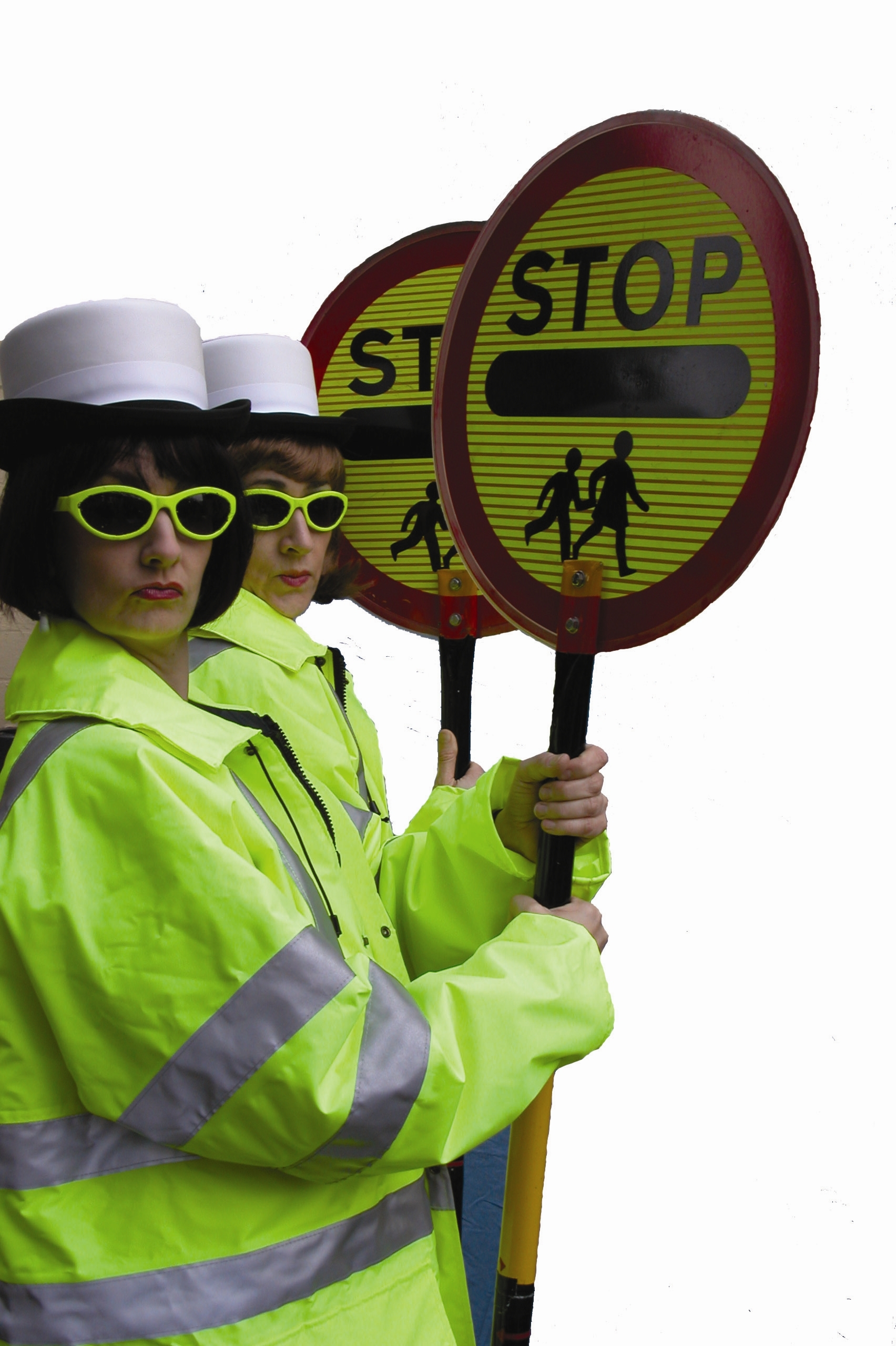 Lollipop patrol appearing at ninth annual Oldham Vintage Car show