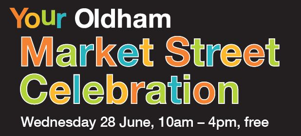 Market street comes to Oldham