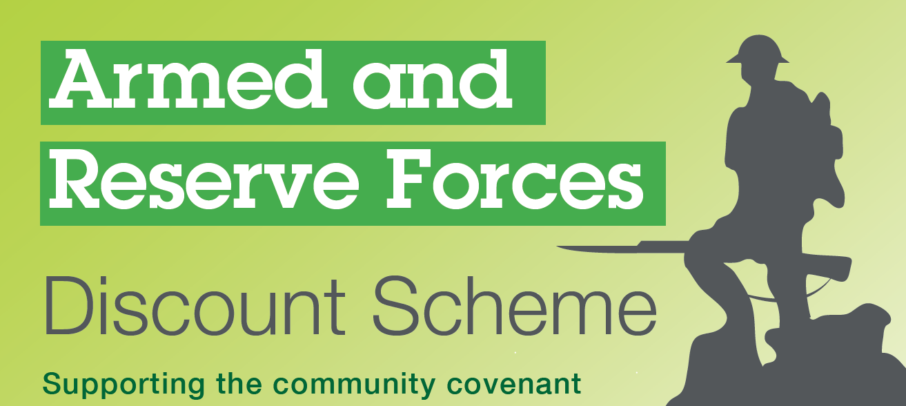 Armed and Reserve Forces Discount