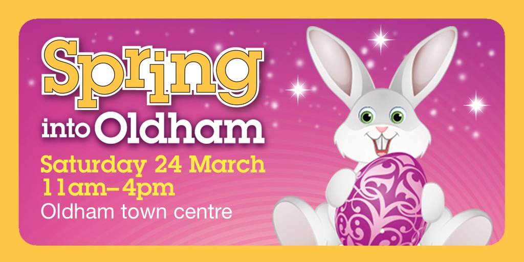 Spring into Oldham 2018