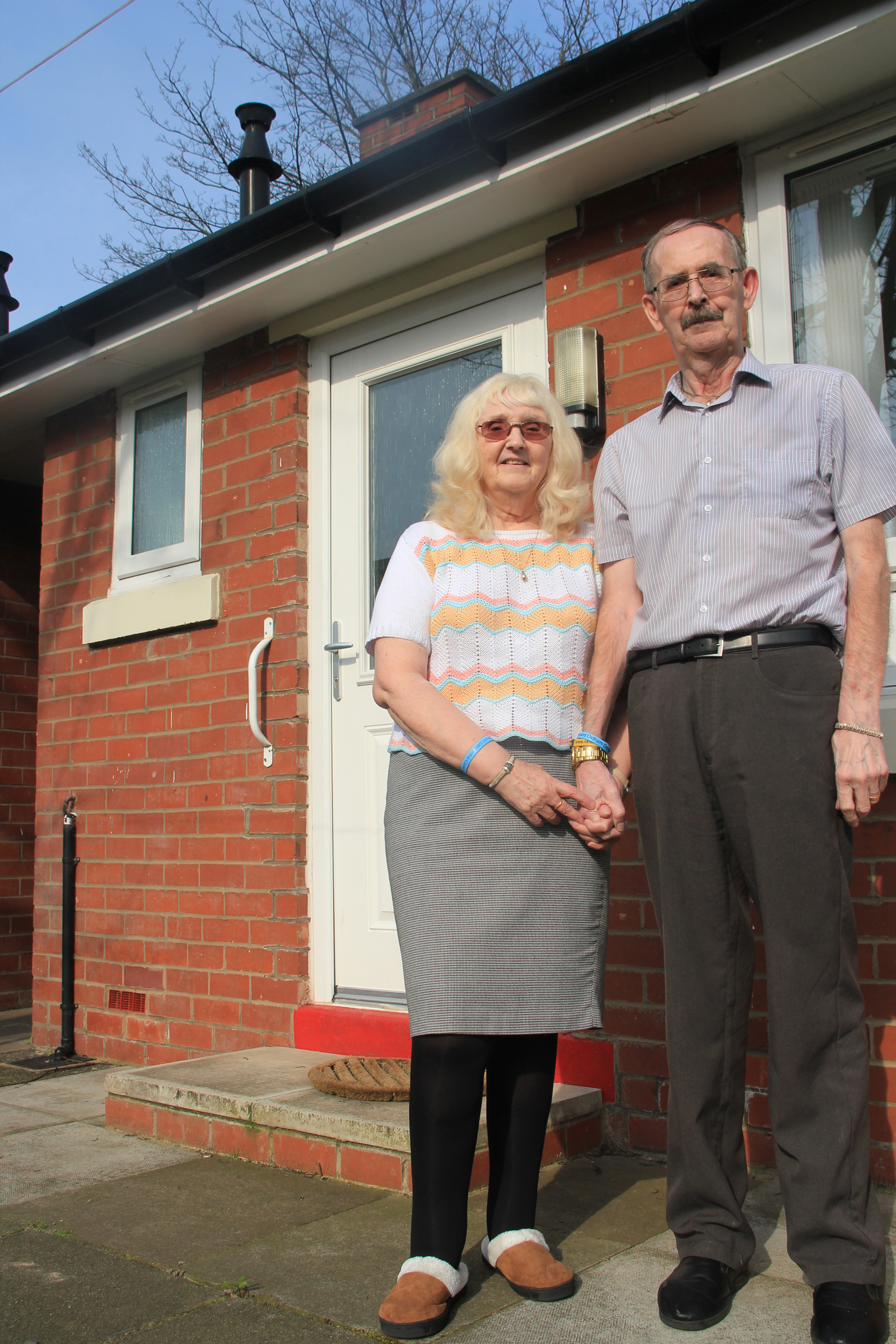 Sylvia and David Patterson at their home for your use. Dementia awareness