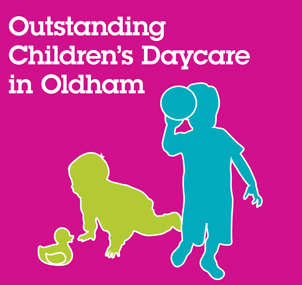 Outstanding Children's Daycare in Oldham.