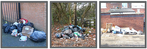 Example of flytipping