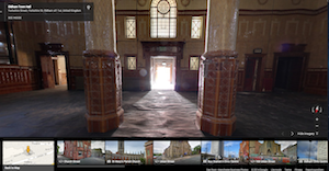 Inside the Old Town Hall - Google view