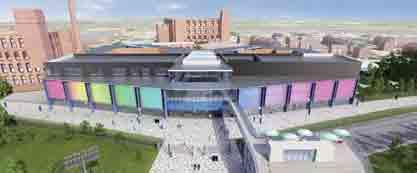The Oasis Academy Oldham.