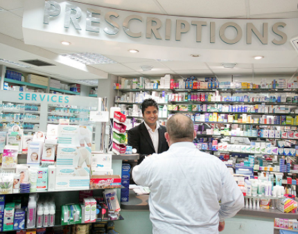 Pharmacies being used for testing