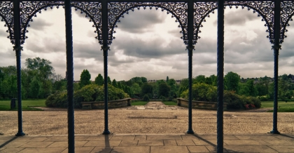 View from the Lion's Den at Alexandra Park